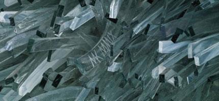 Marta-Klonowska的玻璃碎片藝術