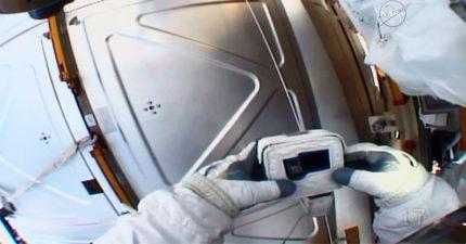 太空人飛出地球才發現「忘記帶記憶卡」 「崩潰求救」對話曝光