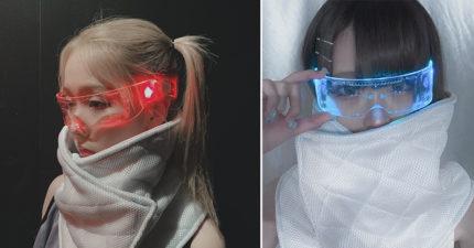 1分鐘就賣光!超未來感「閃光護目鏡」被網友瘋搶