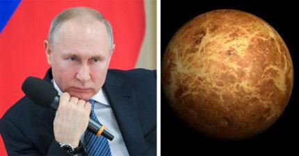 俄羅斯嚴肅宣告「已佔領金星」!署長:金星是俄羅斯人的領土