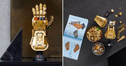 樂高公司推「無限手套」全長30公分!完美還原「彈指動作」超霸氣