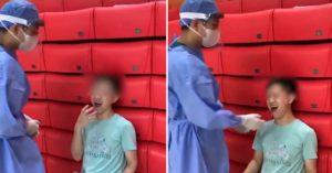 男大生採檢張嘴過猛「下巴掉了」 醫生提醒有病史要小心!