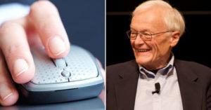 有他才有「蘋果電腦」!傳奇「滑鼠發明人」過世 享耆壽91歲